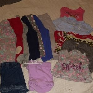 Lot of 12 girls clothes